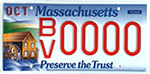 Blackstone River Valley license plate