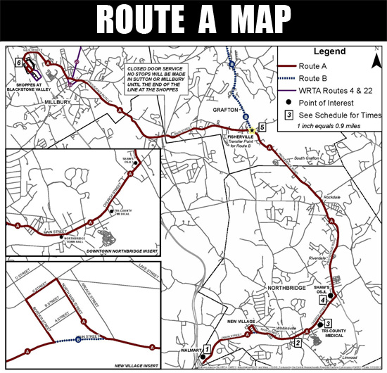 Blackstone Valley Chamber of Commerce: MBTA Community Routes A & B ...