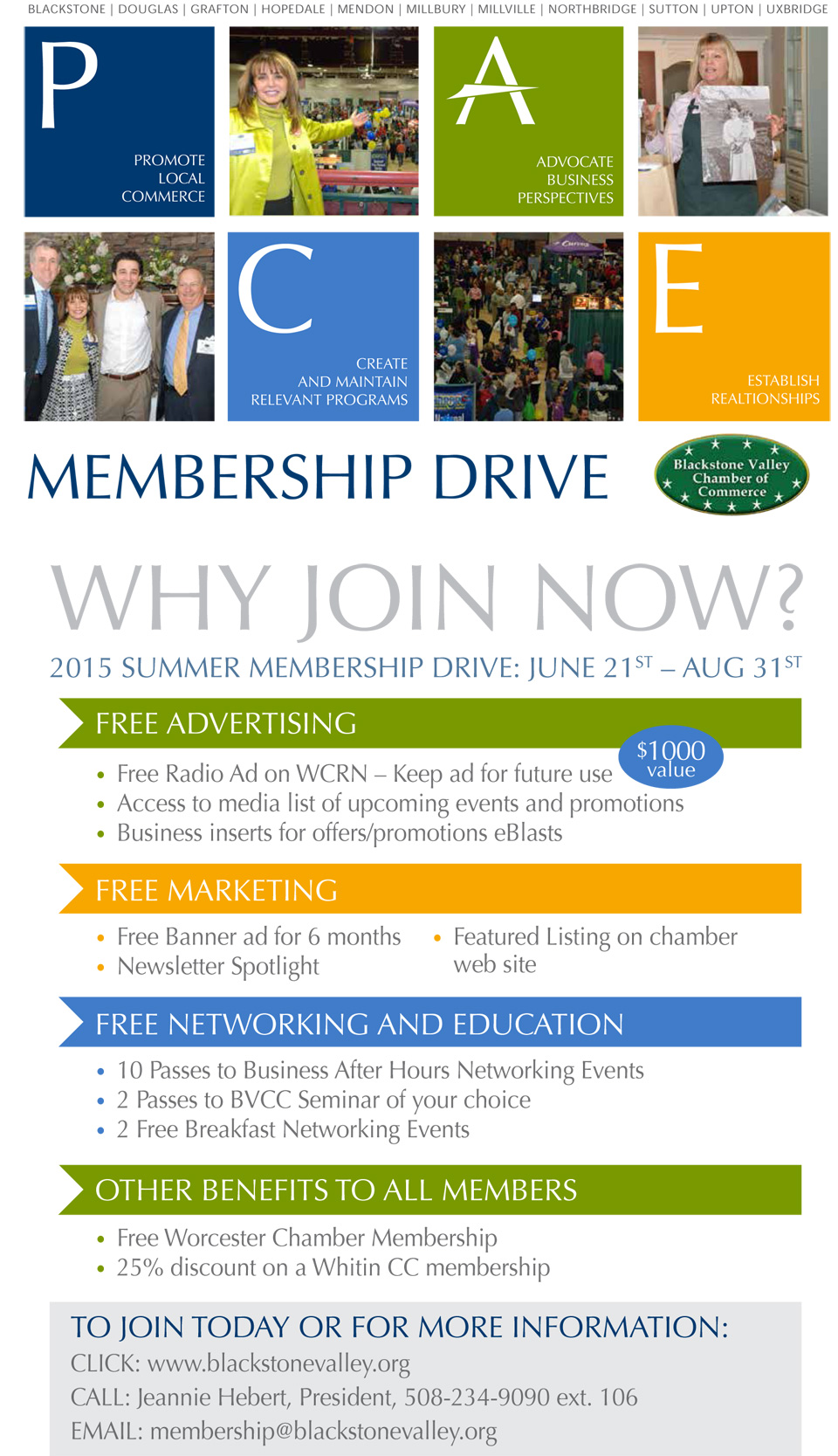 Blackstone Valley Chamber membership is an investment in your business ...