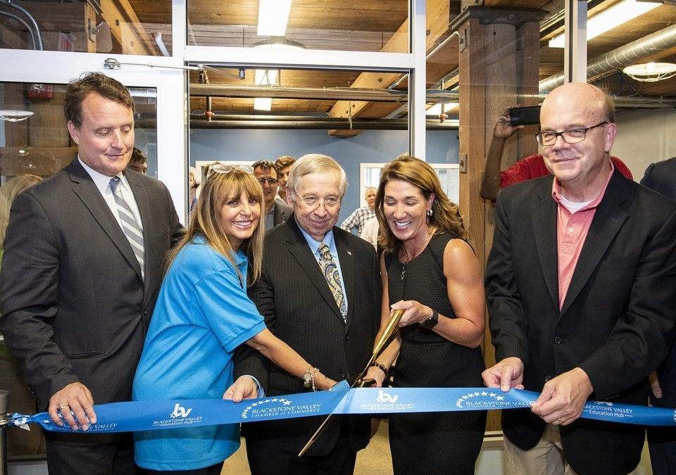 Blackstone Valley Education Hub opens to teach advanced manufacturing skills to students, adults